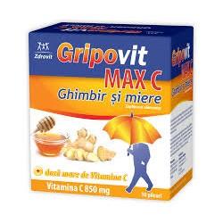 GripovitMaxC Ghimbir şi...