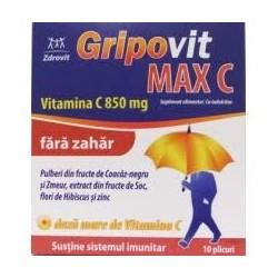 Gripovit MaxC fără zahăr,...