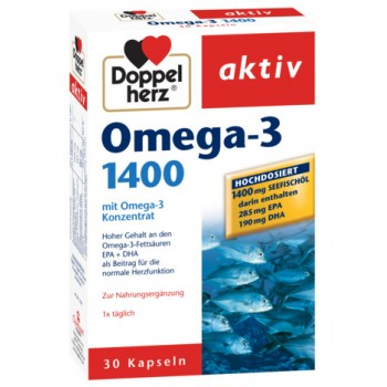 Omega-3 1400 mg, Doppelherz